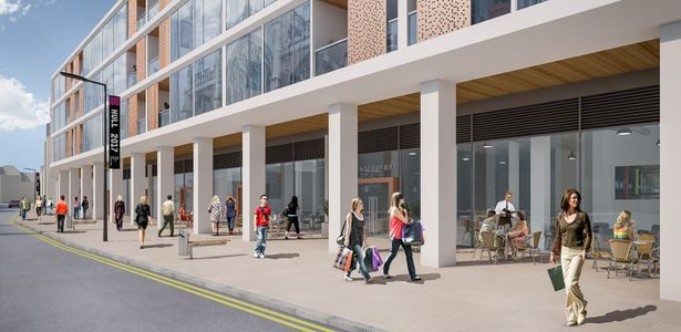 Jamie Oliver could be heading to Hull. King William House Development